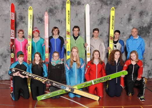 Concord's co-ed ski jumping team is coached by Rick Bragg