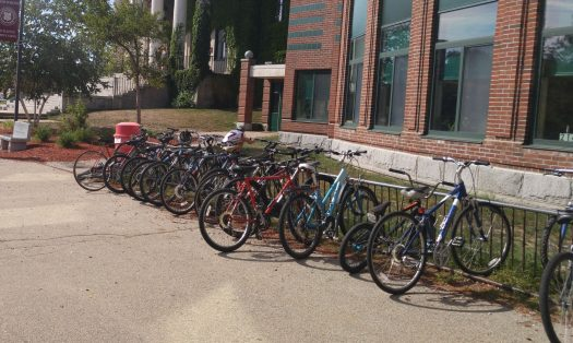 Some CHS students bike to school every day