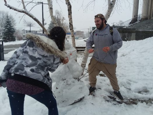 Not enough snow fell to warrant cancellation of classes