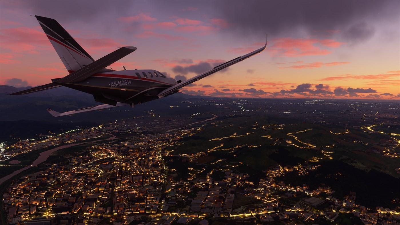Microsoft Flight Simulator 2020 shows a promising advancement in graphics