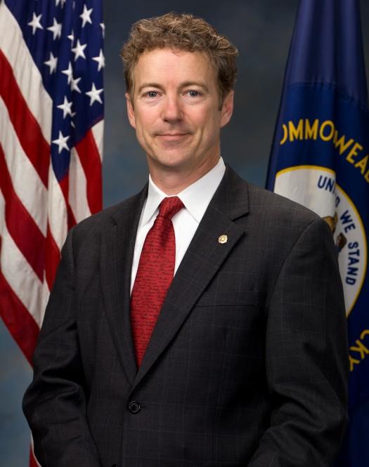 Rand Paul's official portrait