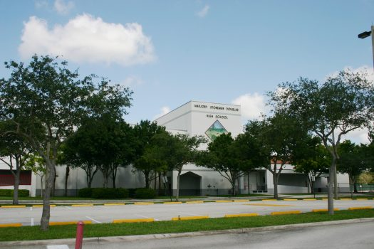 Marjory Stoneman Douglas High School in Parkland, Florida