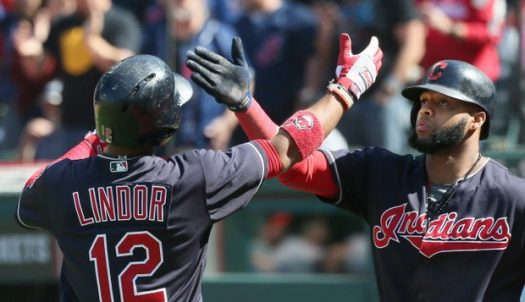 The Indians experienced a short postseason after loosing to the Yankees on October 11.