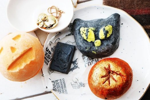LUSH releases many of its Halloween and Christmas products.