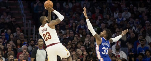 LeBron scores 30, Leads team to 113-91 over 76ers