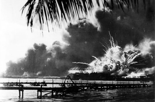 76 years ago, the American naval base Pearl Harbor was bombed by Japanese fighter planes.