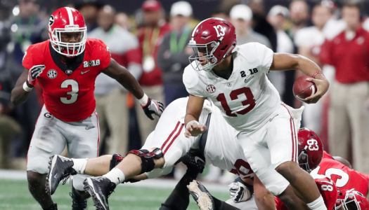 QB Tua Tagovailoa was instrumental in Alabama's win over Georgia