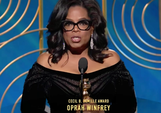 After her Golden Globe speech, many want Winfrey to run for president.