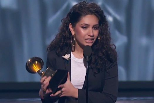 Alessia Cara was only one of a handful of women to receive an award at the 2018 Grammys.