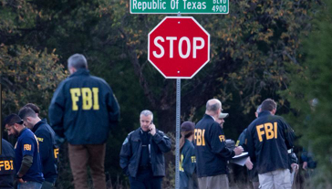 FBI an ATF agents were also involved in the search and investigation