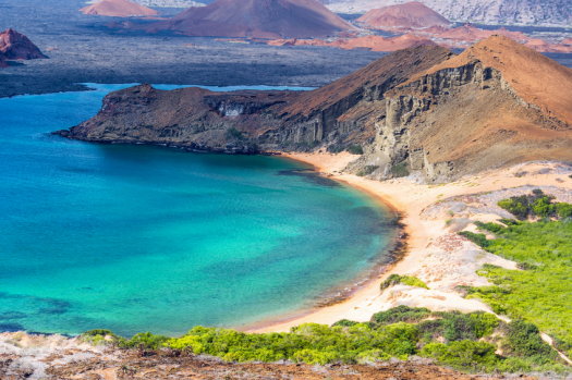 The beautiful and exotic Galapagos Islands.
