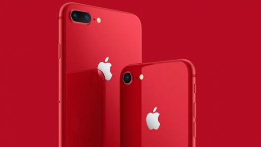 iPhone 8 and iPhone 8 Plus in new vibrant RED color.