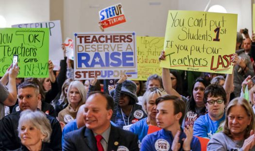 Oklahoma teachers plant to return to their classrooms after a nine-day walkout.