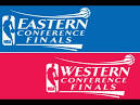 Eastern and Western Conference Finals Logo.