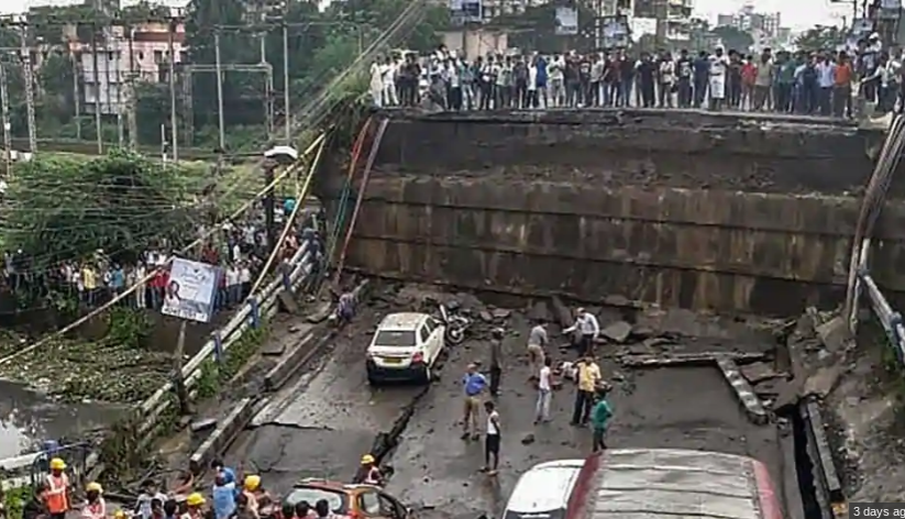 Collapsed Bridge Deck