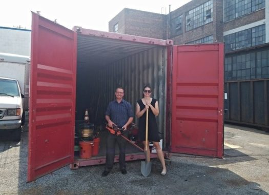 Shipping Container for tool boxes