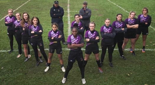 Girls' Rugby Team Photo
