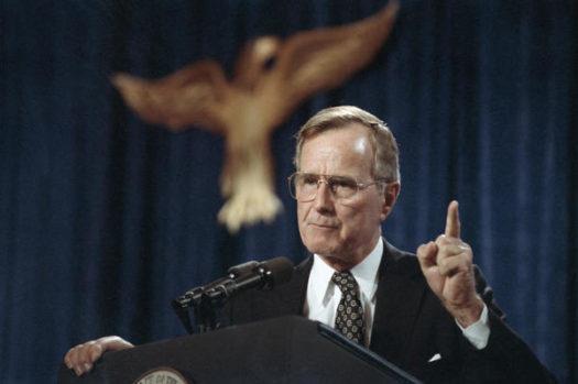 """""""Bush 41"""" in 1991"""