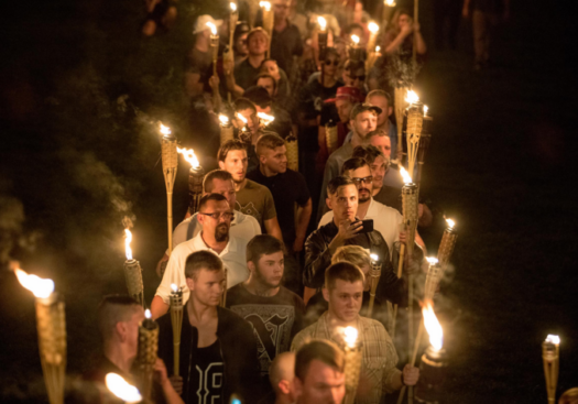 White supremacy rally in Charlottesville, Virginia