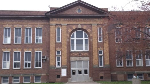 The old elementary school, Franklin, where LCA is located.