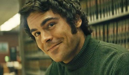 Zac Efron as Ted Bundy in Sundance film