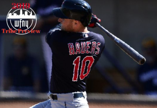 Jake Bauers DH for the Cleveland Indians