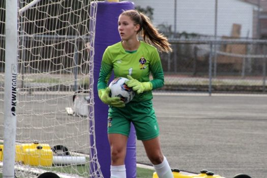 Lauren Barber in action!