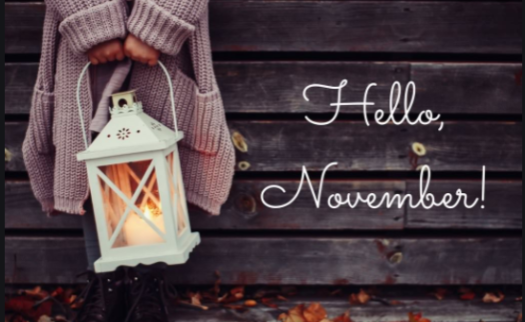 ¨Hello November!¨