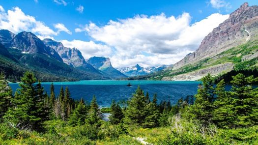 The beauty of Glacier National Park