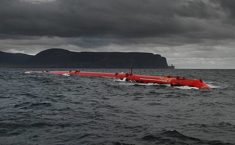 This is an image of the Pelamis Wave Energy Converter