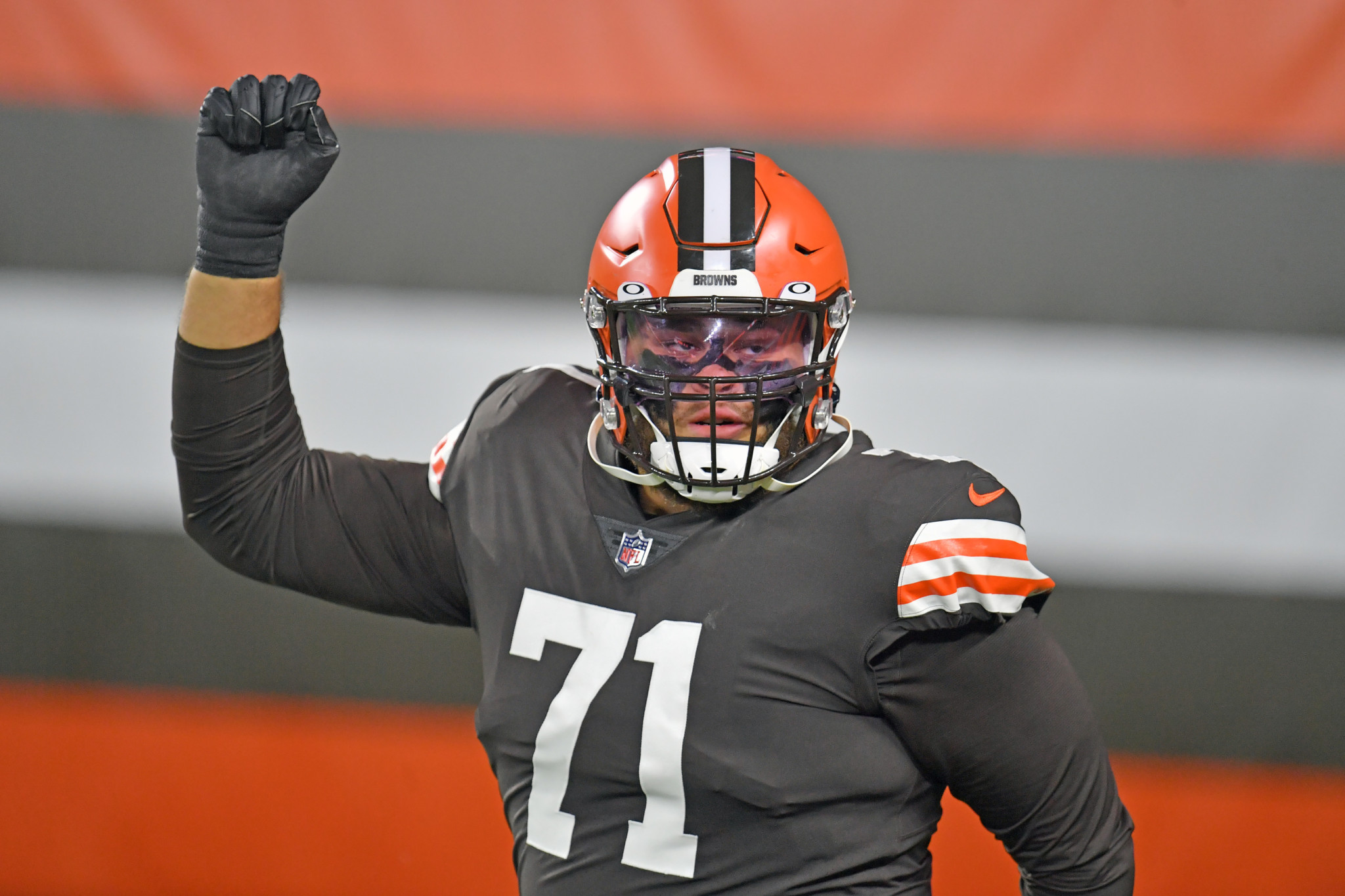 Jedrick Wills Browns Left Tackle