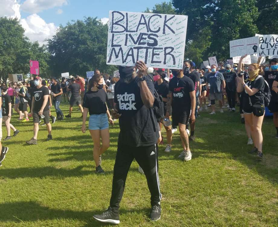 Community gathers for Black Lives Matter protest