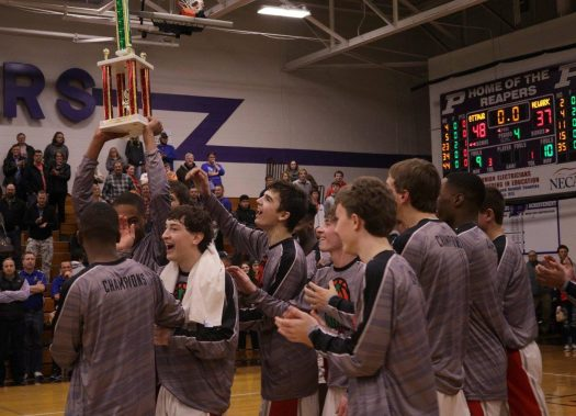 the pirates hoist up the well deserved trophy from the plano christmas classic dec - Plano Christmas Classic