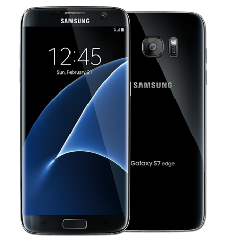 The Samsung Galaxy S7 Edge, one of Android's top smartphones, has the latest version of Android running. Photo Credit: samsung.com