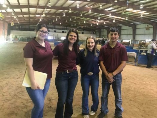 The Poultry Judging team is one of five heading to state competition this week.