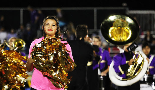 Freshman Emma Adams dances with the Belles on Friday nights.