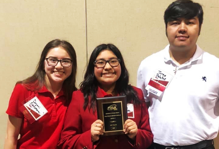 The Chapter in Review team is one of the teams advancing to nationals this summer.