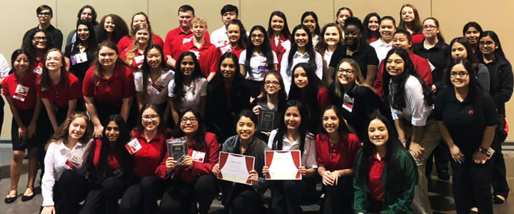 The FCCLA group brought home loads of awards from their regional contest.