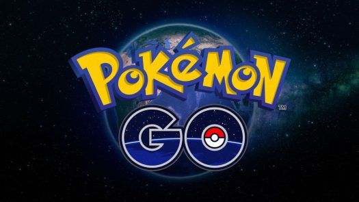 A logo of the popular app, Pokémon GO