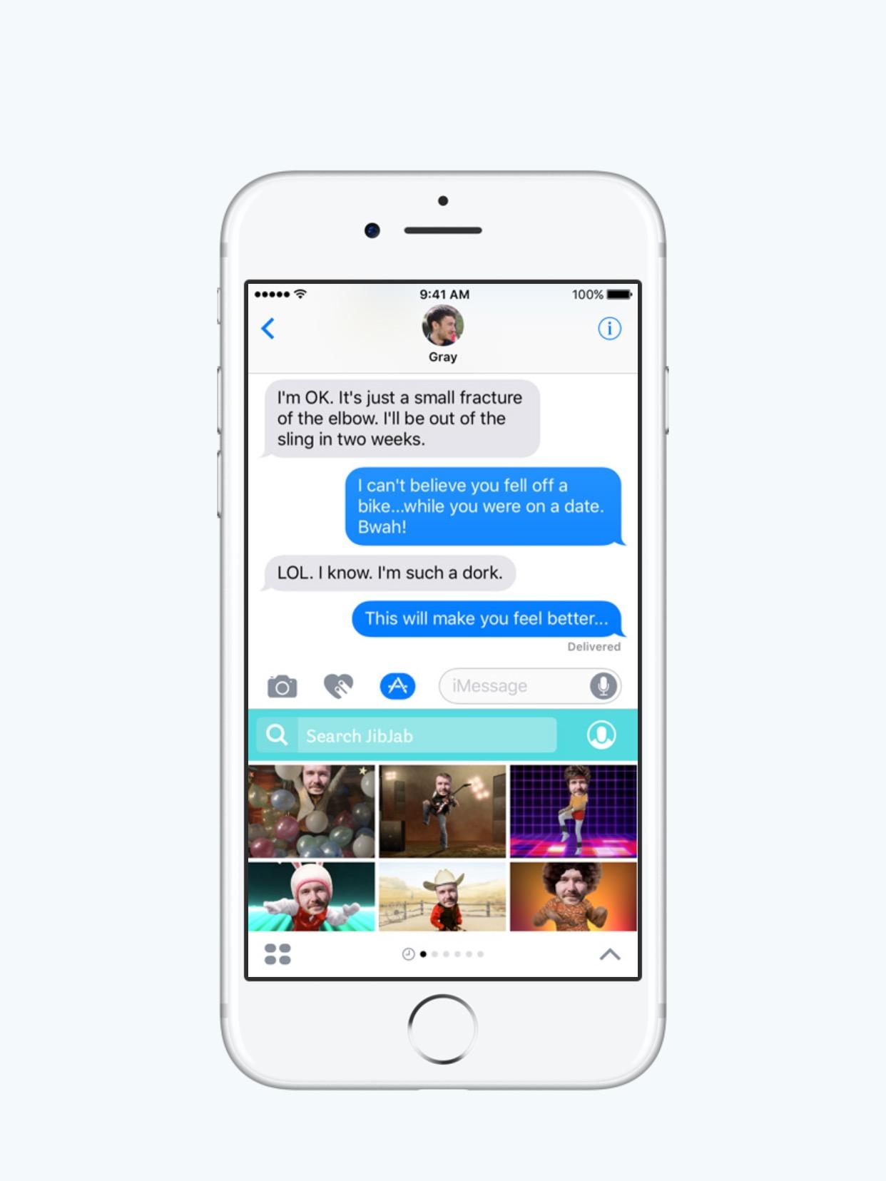 Как сделать гифку приложение на айфон