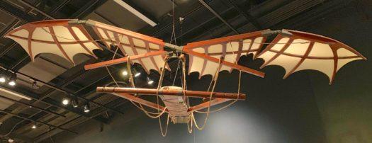 Recreation Of da Vinci's Flying Machine
