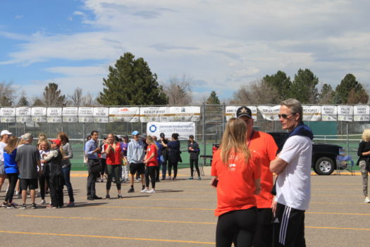 Arapahoe campus held the starting point for the walkers