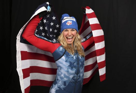 Jessie repping the Red, White, and Blue!