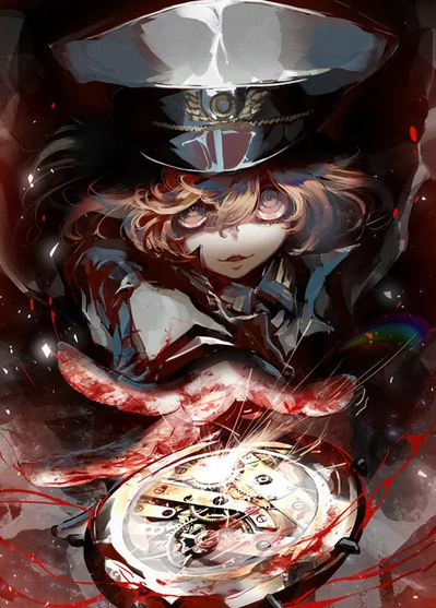 Shinotsuki Shinobu the illustrator of Youjo Senki visual teaser for the new movie