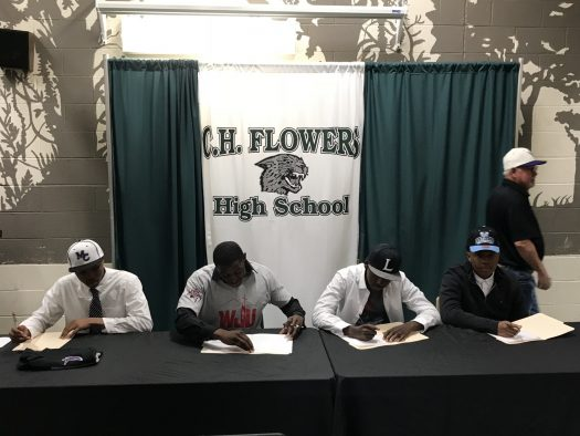 The young men who signed