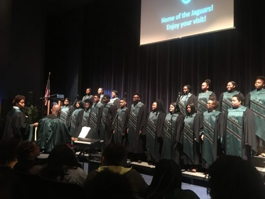 CHFHS Choir performing