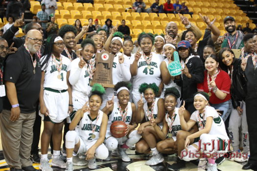 Lady Jaguars Celebrate Their State Championship Victory!