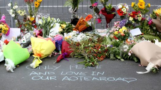 Tribute Area For Muslims Killed In New Zealand