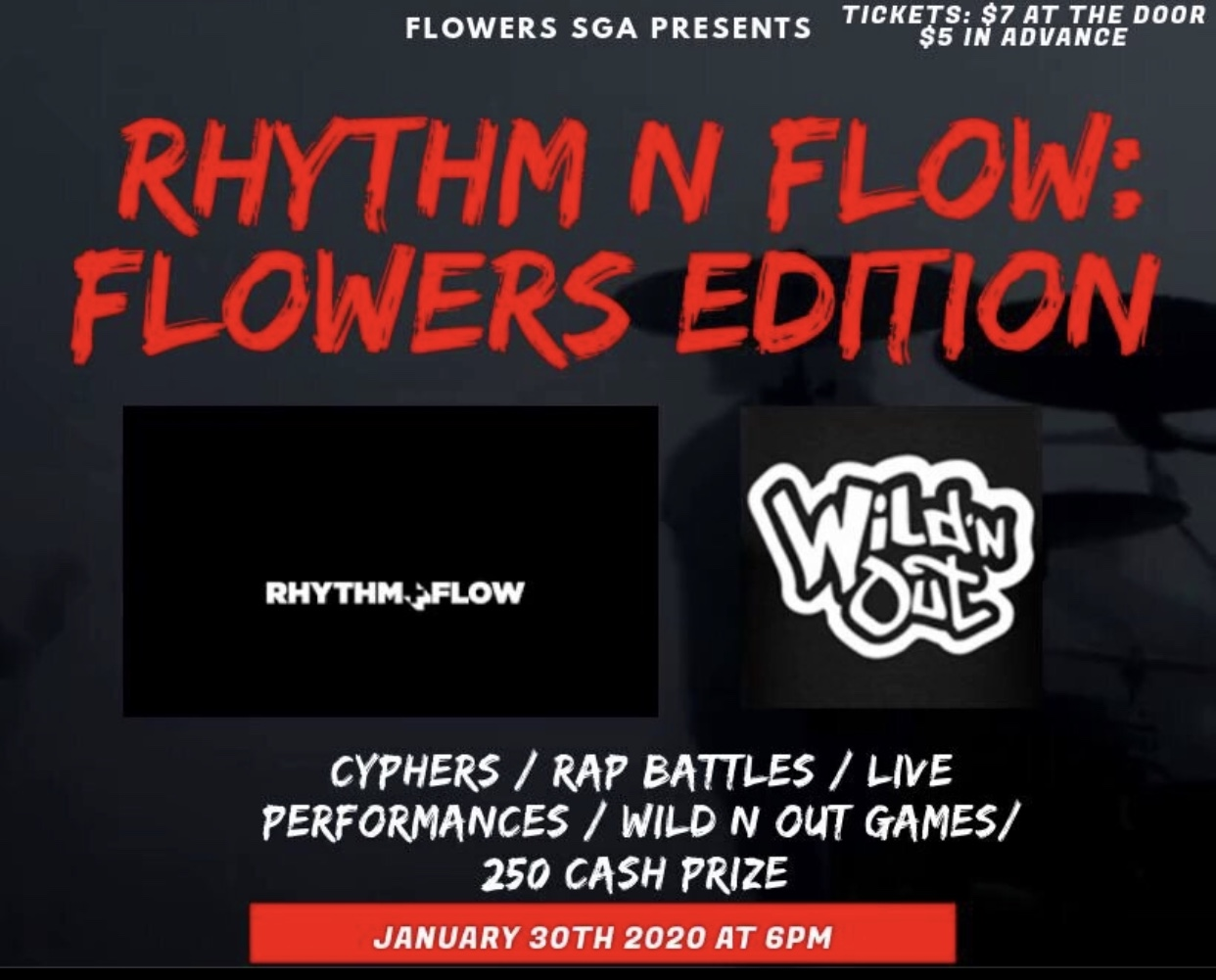 Rhythm and Flow poster