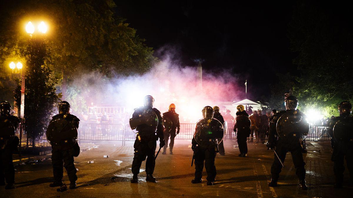 Riot Scenes
